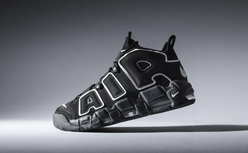 Nike Air More Uptempo OG Scottie Pippen Black White 2016