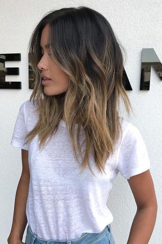 50+ Hottest Easy mittellanges Haar Trends in jeder Farbe für 2019 - Seite 6 € ... - Nora K. #easyhair