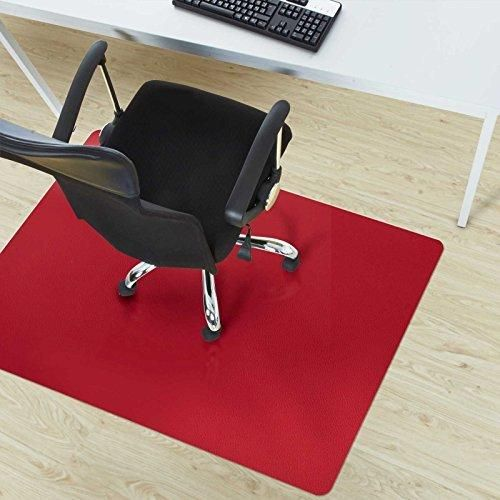 Office Marshal Office Chair Mat Red Hard Floor Protection 30 X