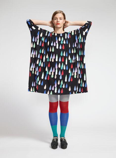 Drop-mekko (musta, punainen, sininen) |Vaatteet, Naiset, Mekot ja hameet | Marimekko