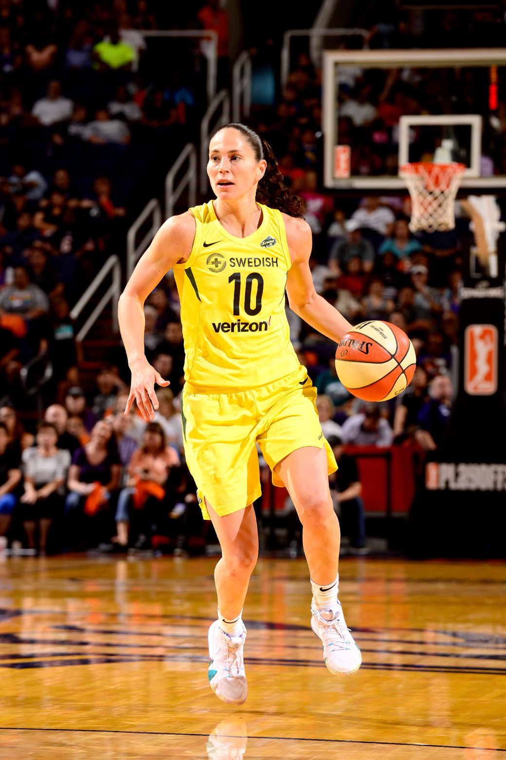 ICON Seattle Storm Legend Sue Bird Covers SLAM 228 in