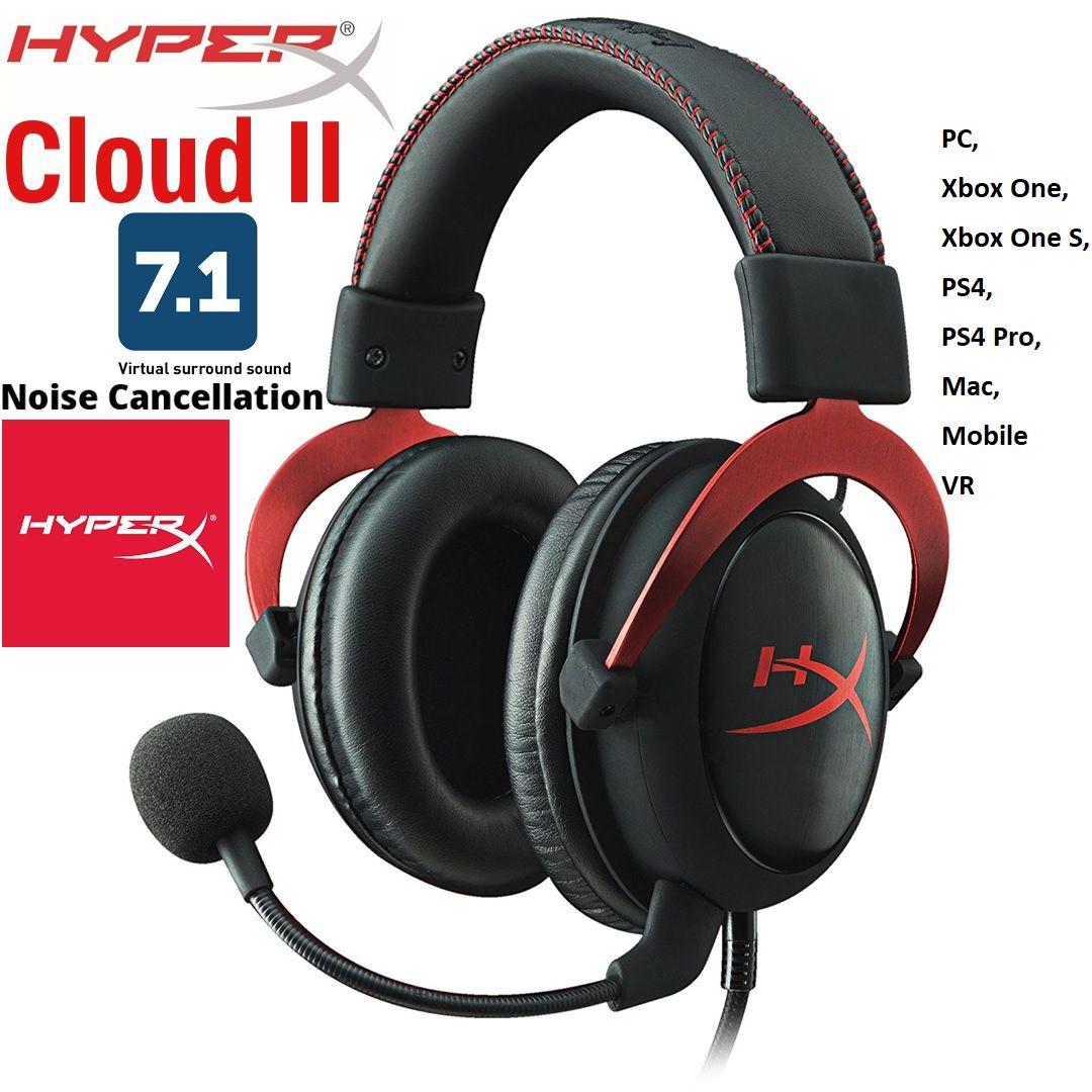 Kingston HyperX Cloud II PRO GAMING HEADSET for PC & MAC
