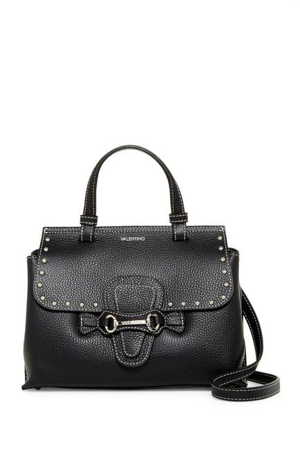 Image of Valentino By Mario Valentino Diane Leather Satchel
