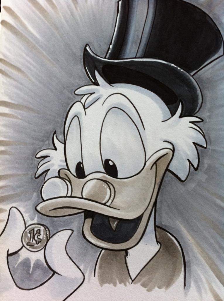 Scrooge Mcduck Tio Patinhas Desenhos Animados E Desenhos