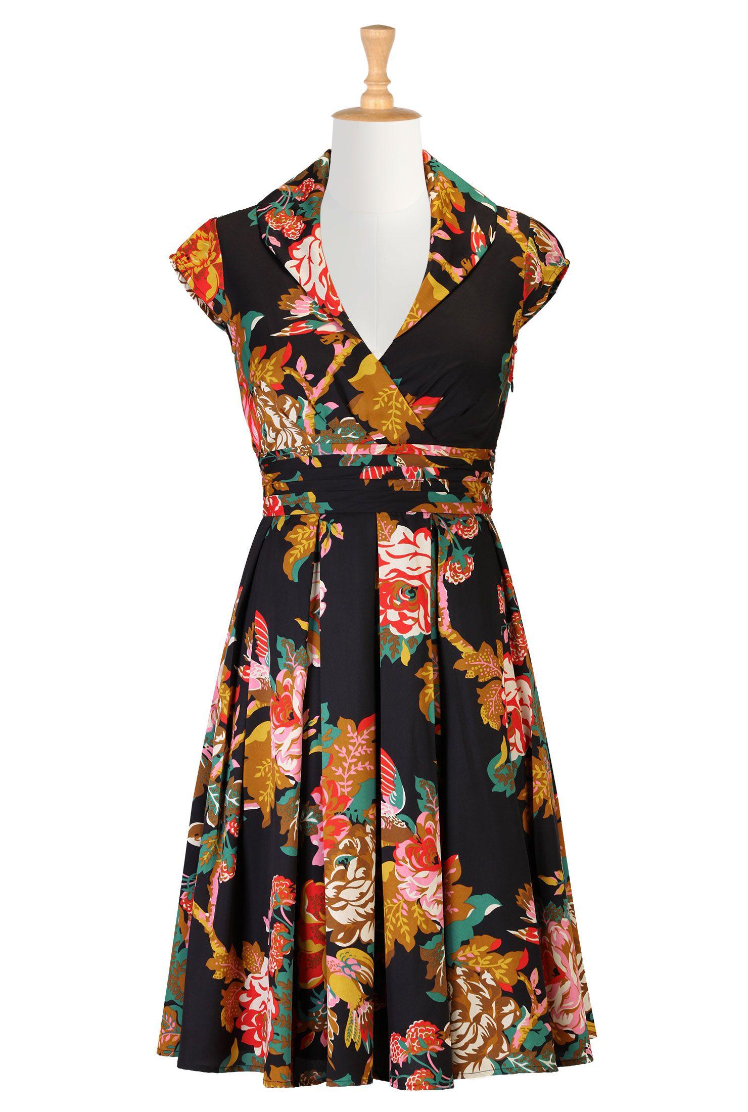 c33b3ec6d25de Womens stylish dress - Cocktail dresses, bridesmaid dresses, designer  dresses, womens short sleeve dresses | eShakti.com