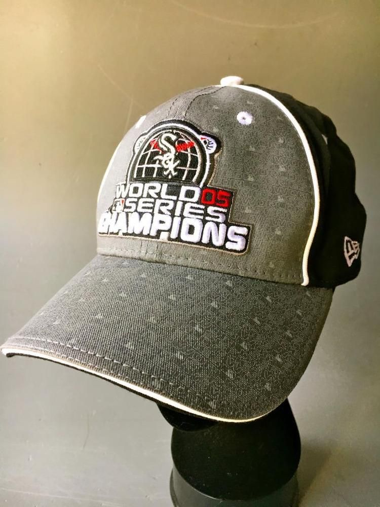 newest 6fb73 aaa7c Details about Chicago White Sox World Series Hat MLB New Era ...