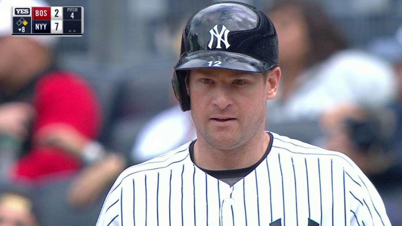 Chase Headley 2016 Yankees Yankees Baseball Hats Baseball