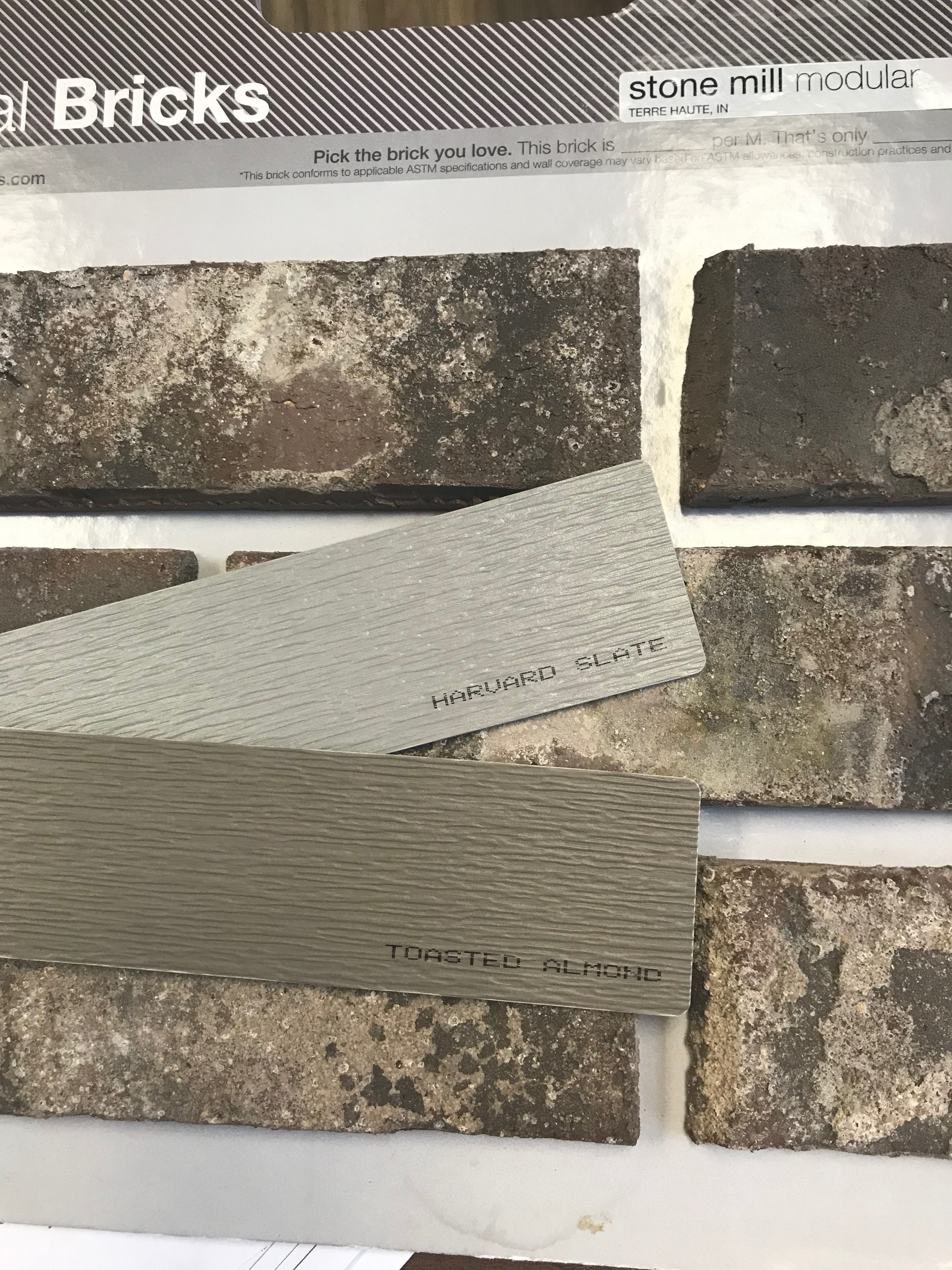 Exterior Siding Royal Building Products Toasted Almond Harvard Slate Siding Colors Exterior Siding House Siding