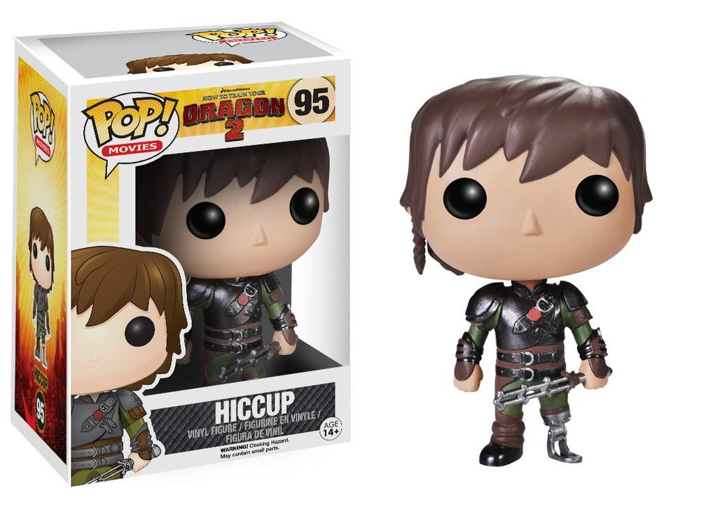 Funko Pop! Movies: How to Train Your Dragon - Hiccup