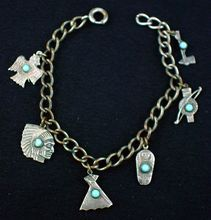 Coin silver and turquoise