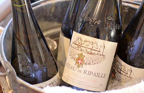 Chateau de Ripaille, from the Savoie, made with Chasselas- the first wine grape found in archeological history.  A découvrir avec les Guides du Patrimoine des Pays de Savoie http://www.gpps.fr/Guides-du-Patrimoine-des-Pays-de-Savoie/Pages/Site/Visites-en-Savoie-Mont-Blanc/Chablais/Rives-du-Leman/Chateau-de-Ripaille