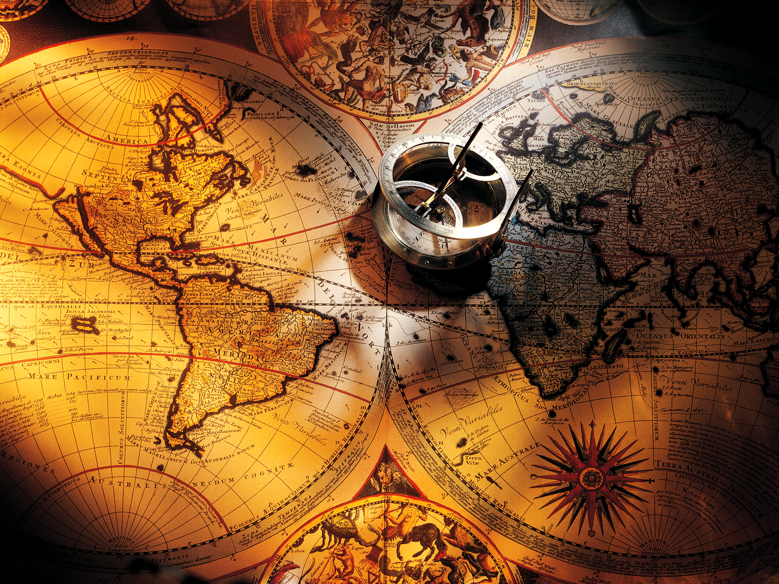Old World Map Compass Images Pictures Becuo On The Verge - Us map w compas