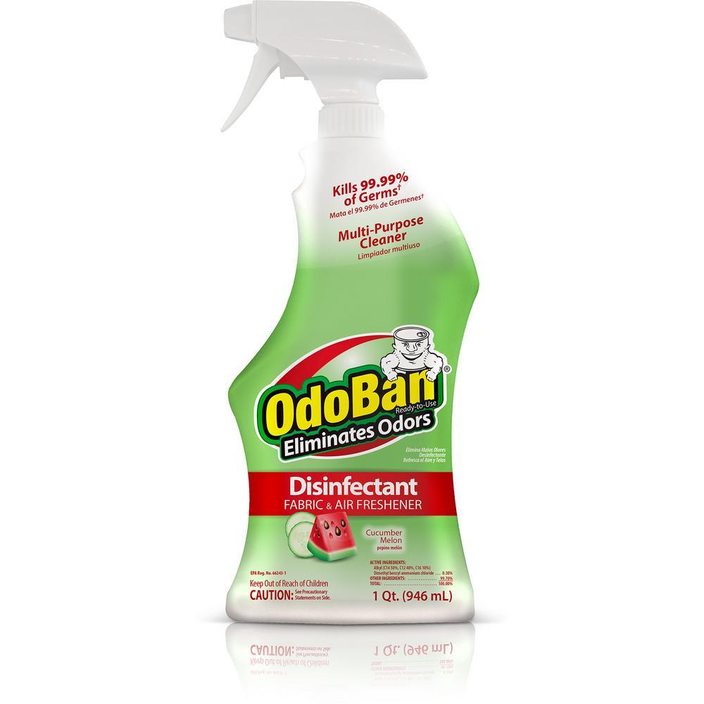 OdoBan 32 oz. ReadytoUse Cucumber Melon Disinfectant