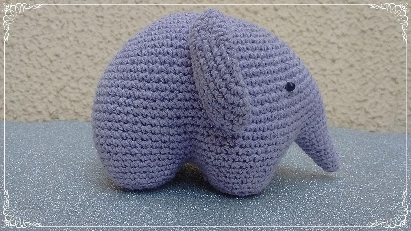 Amigurumi Totoro Receita : Fiz essa seleção de receitas de elefante amigurumi que são muito
