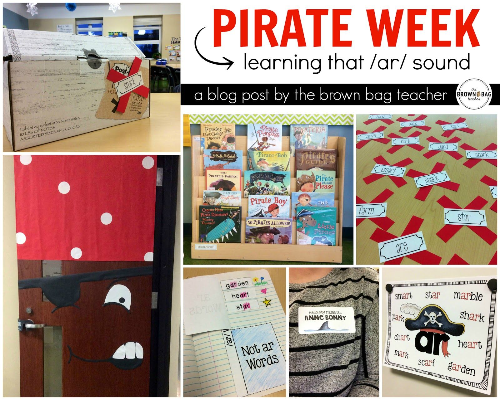 R Controlled Vowels Ar Pirate Week