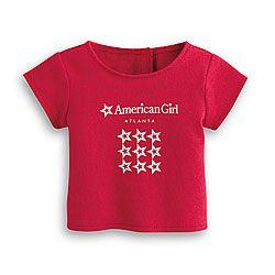 American Girl® Sale: Atlanta Classic Tee for Dolls
