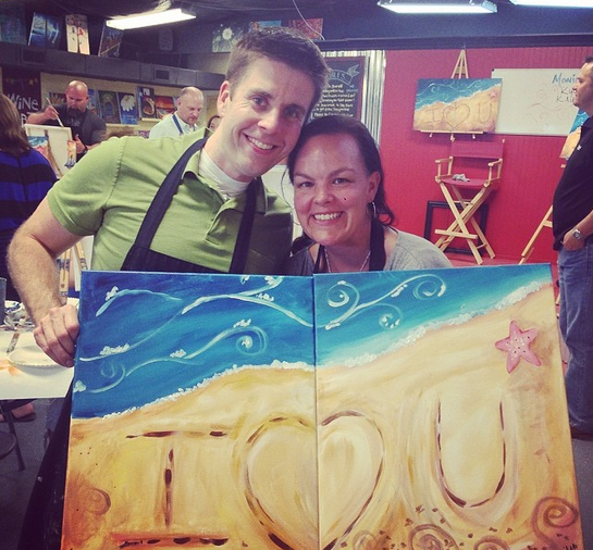 Date Night Painting with a Twist in Grapevine, Texas My