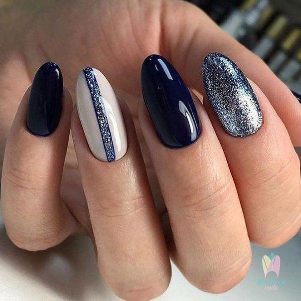 Маникюр | Ногти | Nail art | Pinterest | Manicure, Black nails and ...