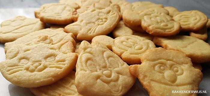 zandkoekjes recept | bakkenderwijs #koekjes #cookie #bakken #baking