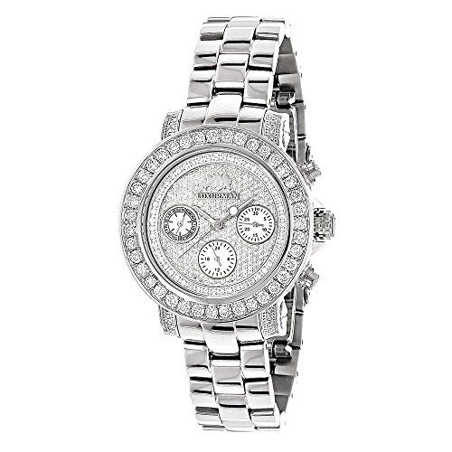 Ladies Diamond Watch 3ct Luxurman Diamond Watch * You can get additional details at the image link.