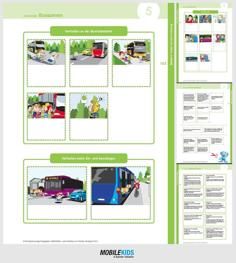 Arbeitsblätter aus kostenlosem MobileKids Schulmaterial zum Thema ...