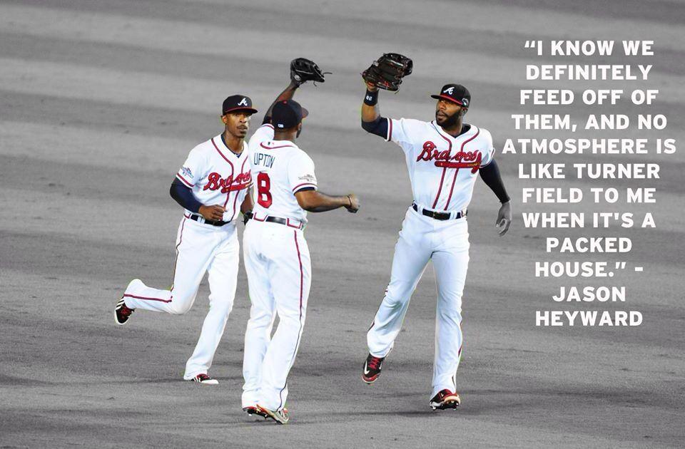 J-Hey, 2013 Atlanta Braves Play-offs