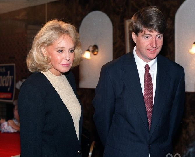 1994: Fundraiser for Patrick Kennedy at Julio's Restaurant in North Providence, Rhode Island.
