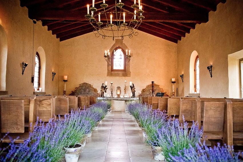 Test Title Lavender Wedding Church Decor Wedding