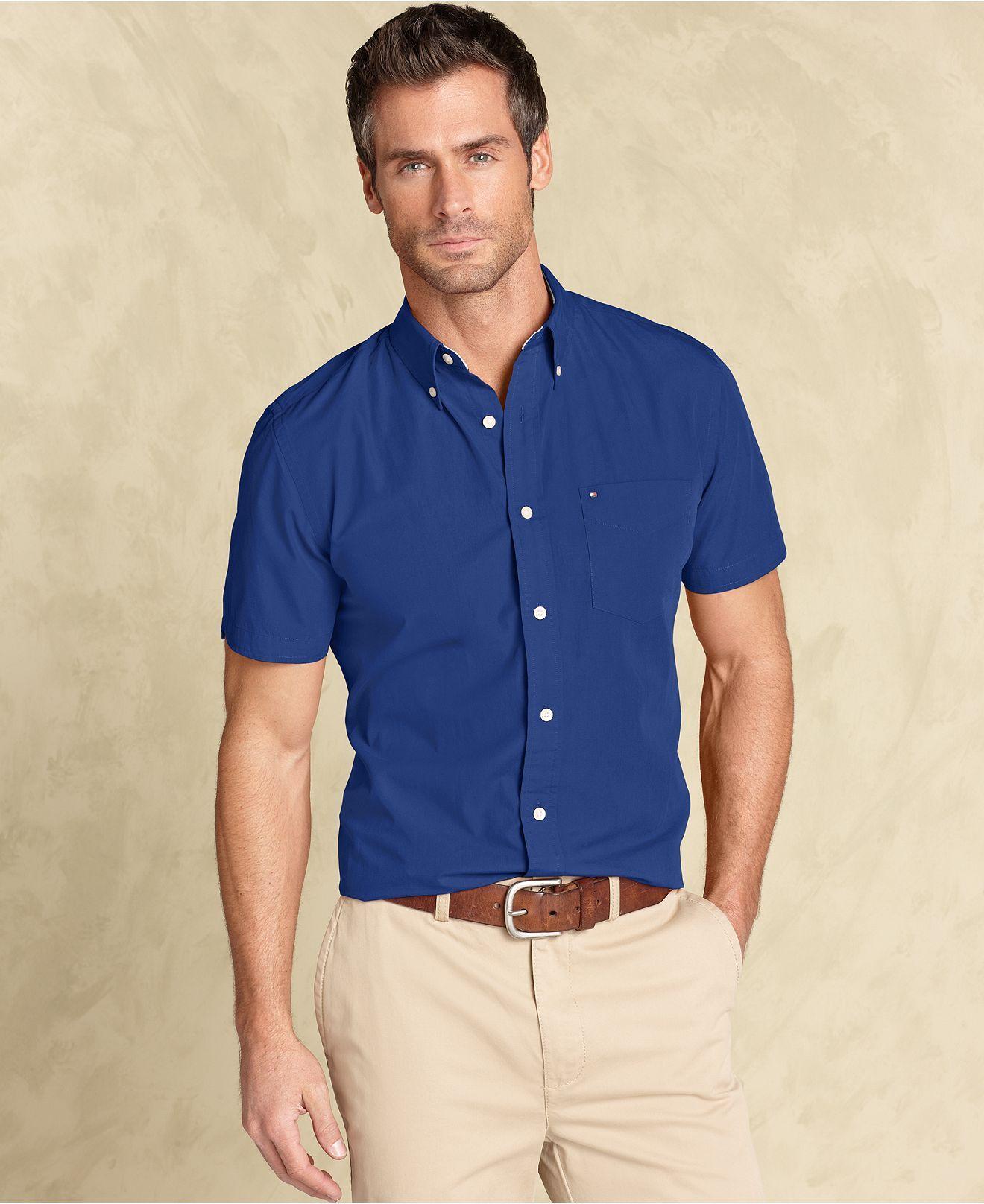 Tommy Hilfiger Shirt, Max Fashion Slim Fit Button Down Shirt ...