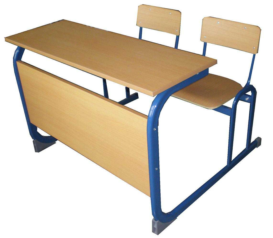 Two Person Solid Wood Schools Desk Chair Student Desks Desk Desk Design
