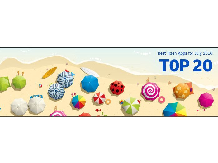 List of the Top 20 most downloaded apps / games from Tizen
