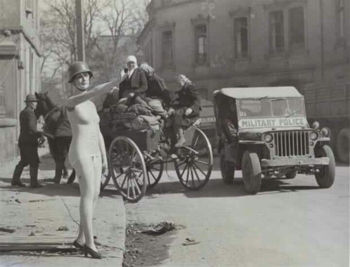 German shop mannequin, 1945