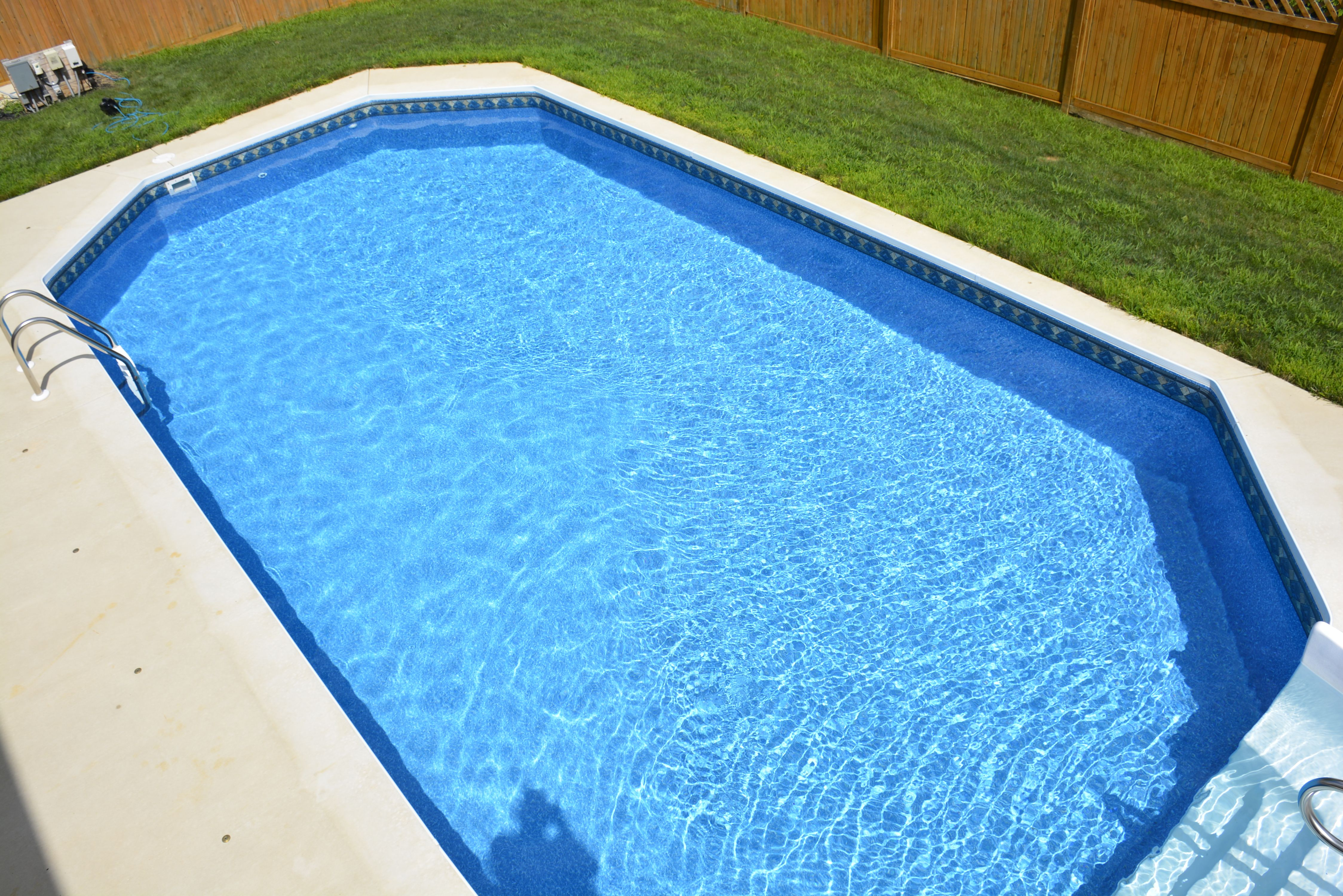 In ground Grecian Ultimate Pool Fabcote
