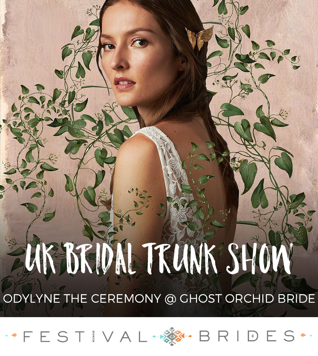 Wedding dress trunk show  Odylyne The Ceremony Dress Trunk Show at Ghost Orchid Bride  Orchid