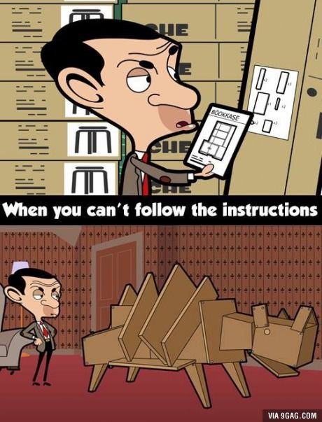 Instructions were unclear   Instruction, Funny memes, Fun