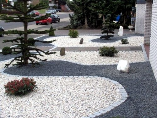 Front Garden Design With Gravel