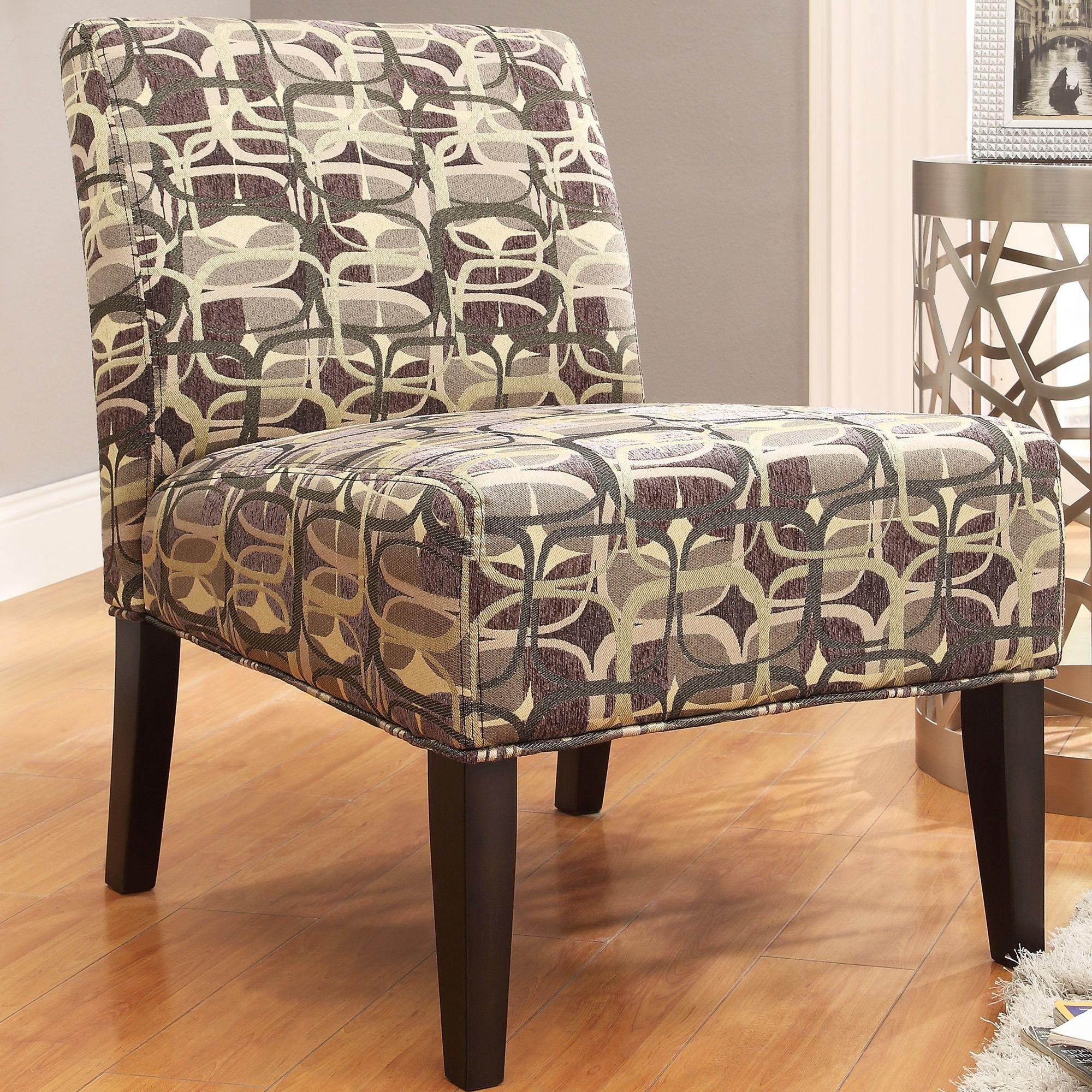 INSPIRE Q Peterson Mod Geometric Slipper Chair by iNSPIRE Q