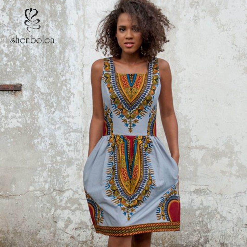 Günstige 2016 sommer heißer verkauf african dashiki kleid ...