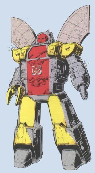 OMEGA SUPREME ALLEGIANCE: AUTOBOT FUNCTION: DEFENSE BASE FIRST APPEARANCE: TRANSFORMERS # 19