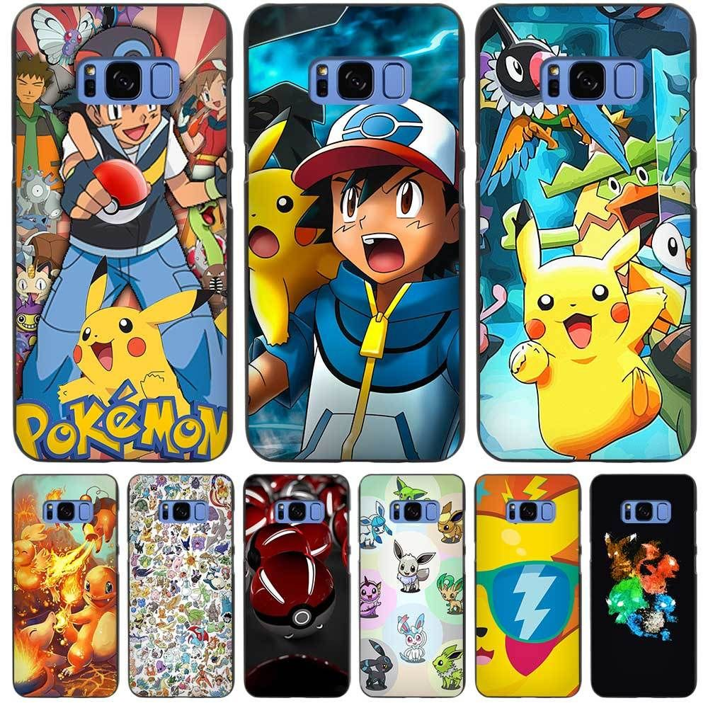 Pokemon Go Characters Black Case Cover For Samsung Galaxy ...