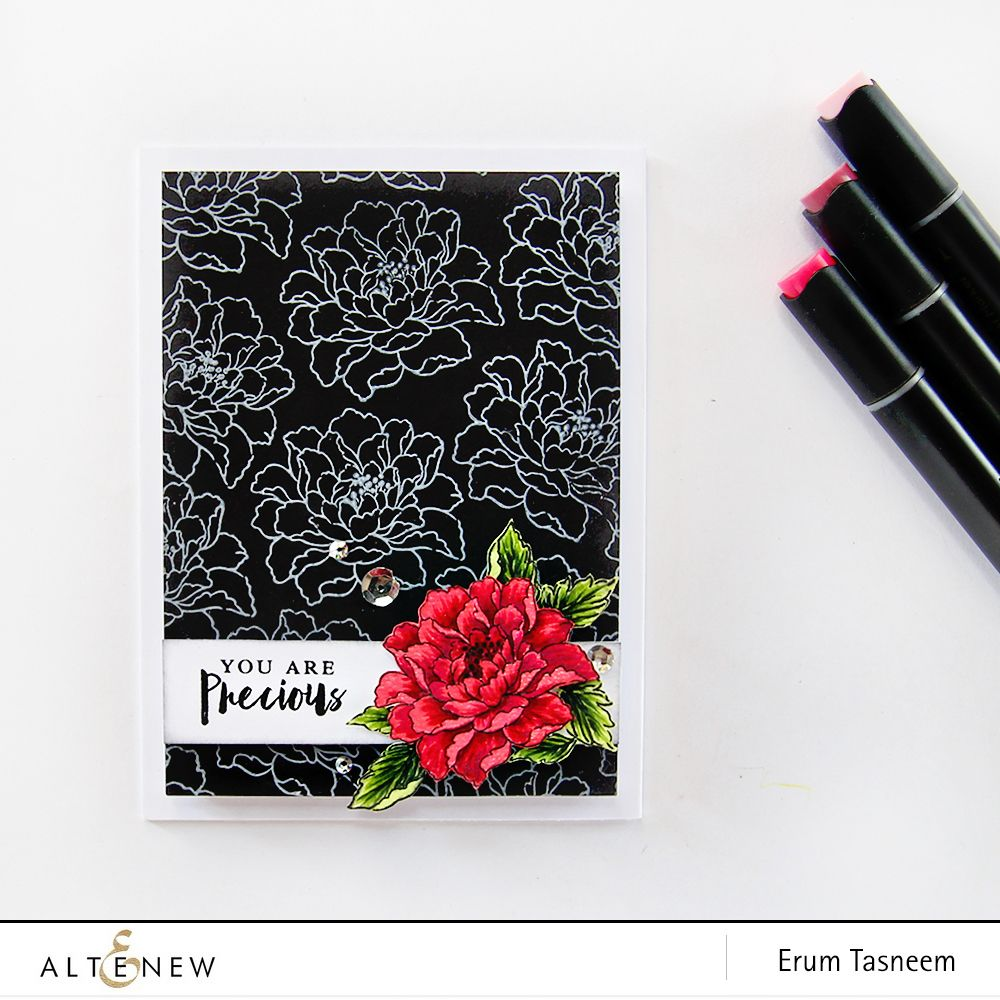Easy and quick handmade card using the remember this stamp set and