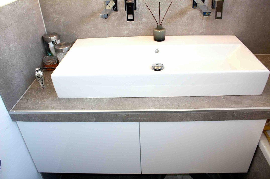 Ein Kuchenschrank Im Badezimmer Bad Umbau Mit Ikea Metod Hack Mimimia Diy Living Mit Bildern Badezimmer Unterschrank Ikea Unterschrank Ikea Badezimmer Unterschrank