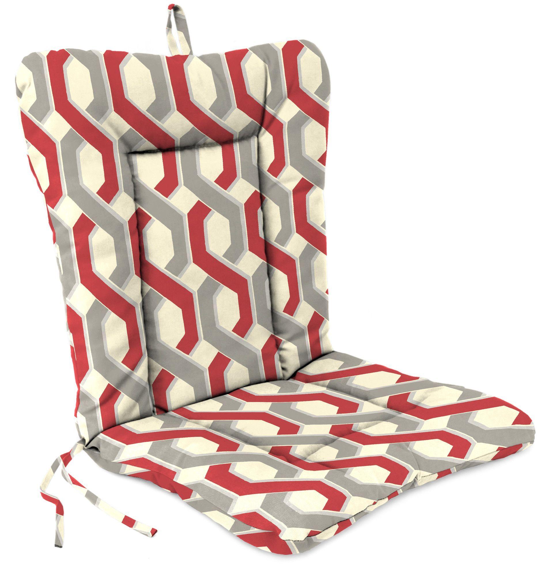 Jordan Manufacturing Outdoor Adirondack Chair Cushion Chair Cushions Adirondack Chair Cushions Adirondack Chair