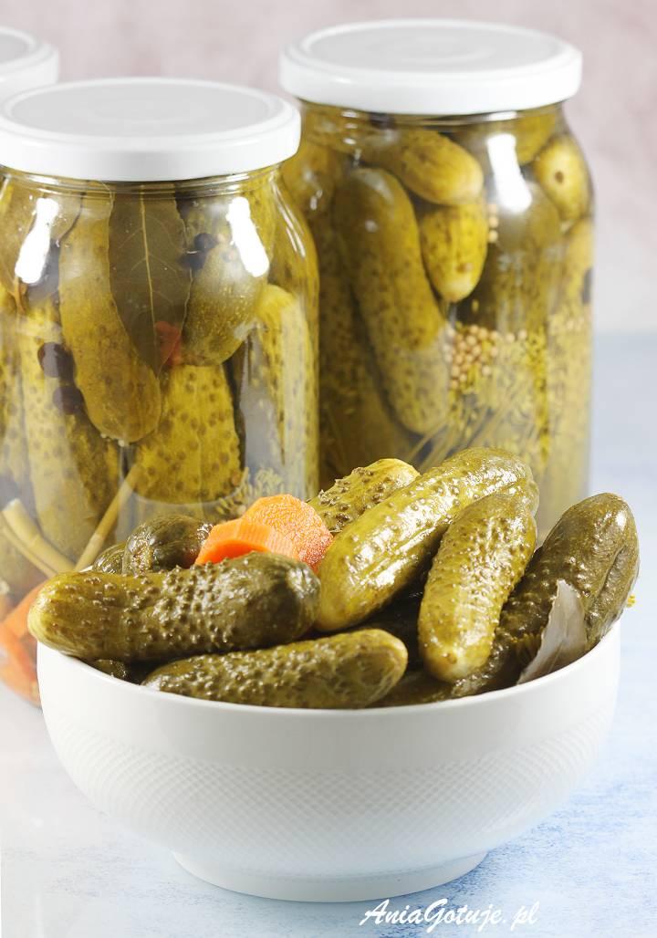 Ogorki Konserwowe Pickled Cucumbers Food Cucumber Recipes