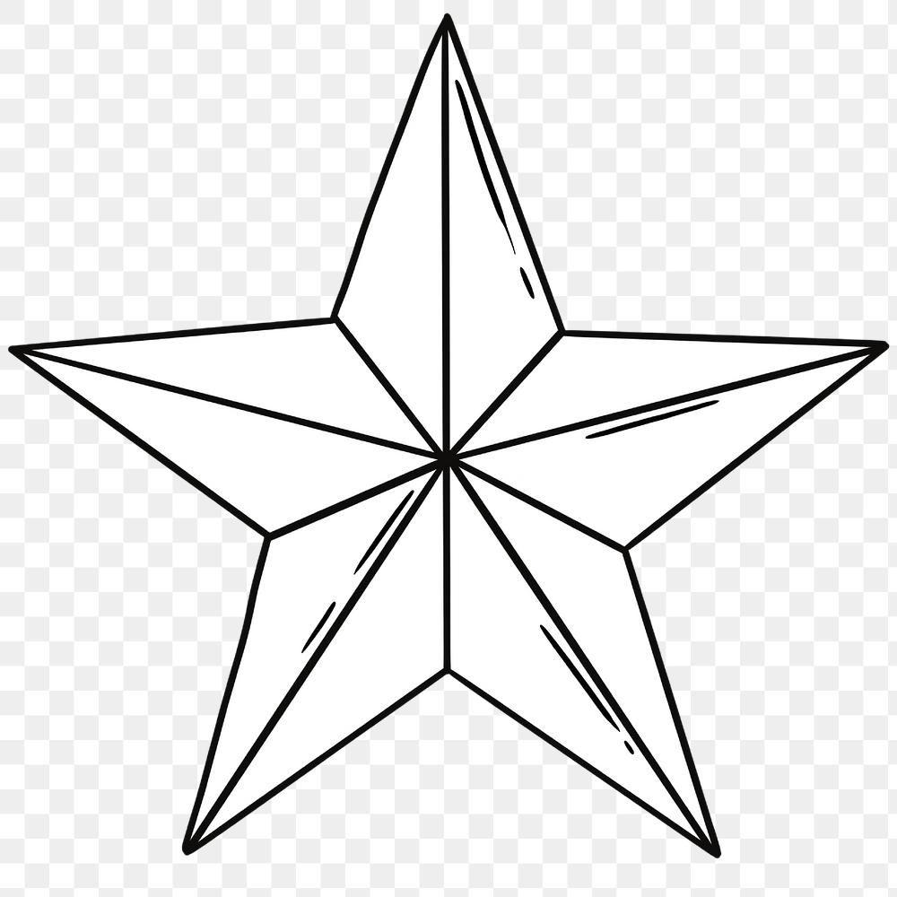 Black And White Star Icon Design Element Free Image By Rawpixel Com Noon Black And White Stars Design Element Icon Design