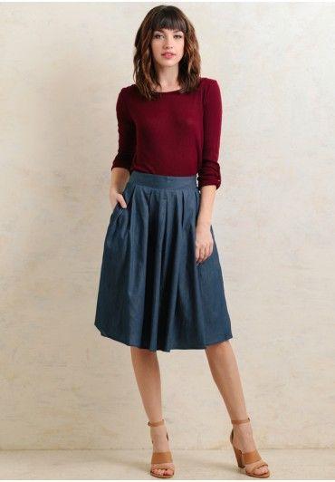9a06d1dbdf Cute Skirts - Maxi, Midi & Vintage Inspired | Ruche | Work Fashion ...