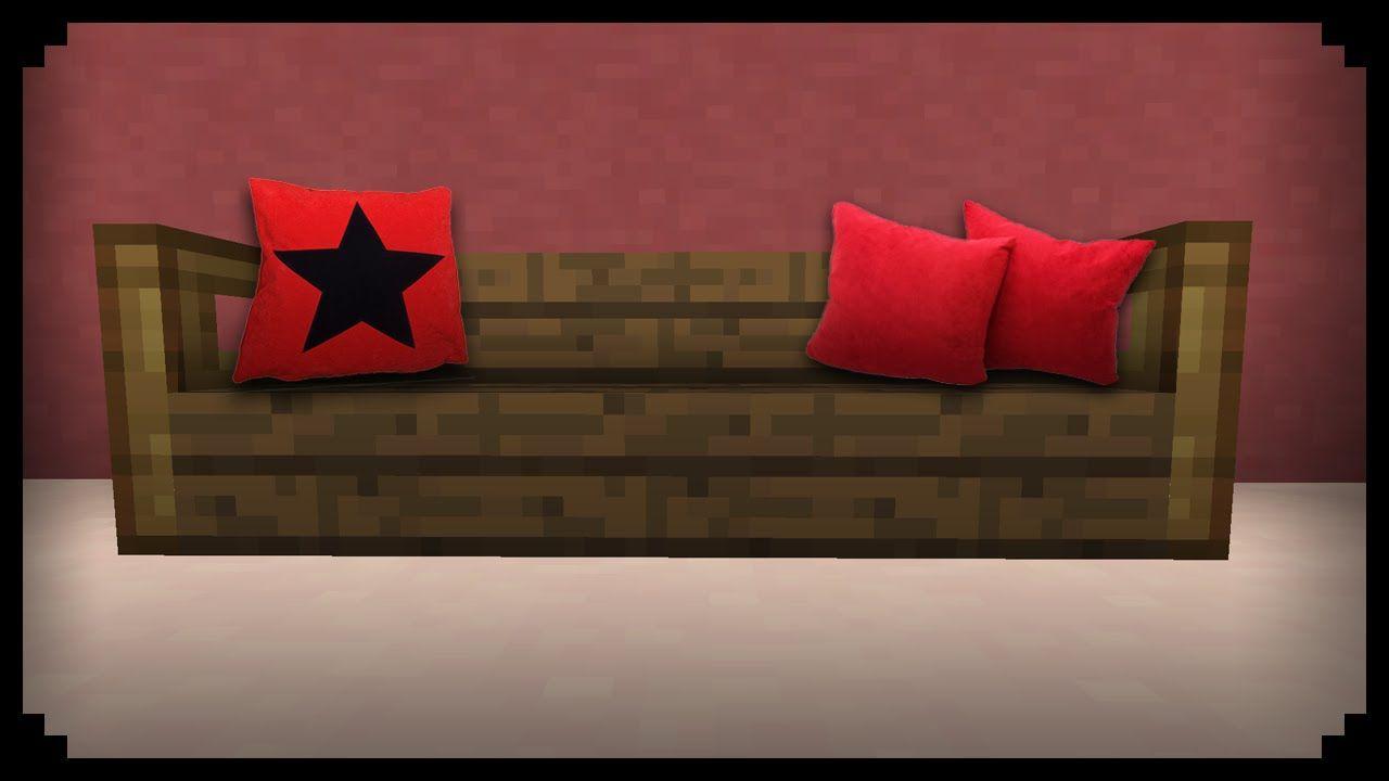 Minecraft How To Make A Sofa Pillow Sofa Pillows Sofa How To Make Sofa