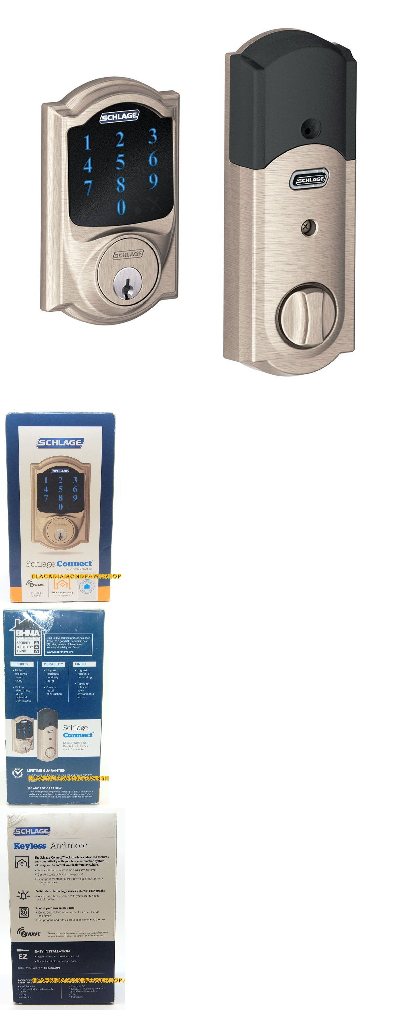 Door Locks And Lock Mechanisms 180966 Schlage Connect Camelot
