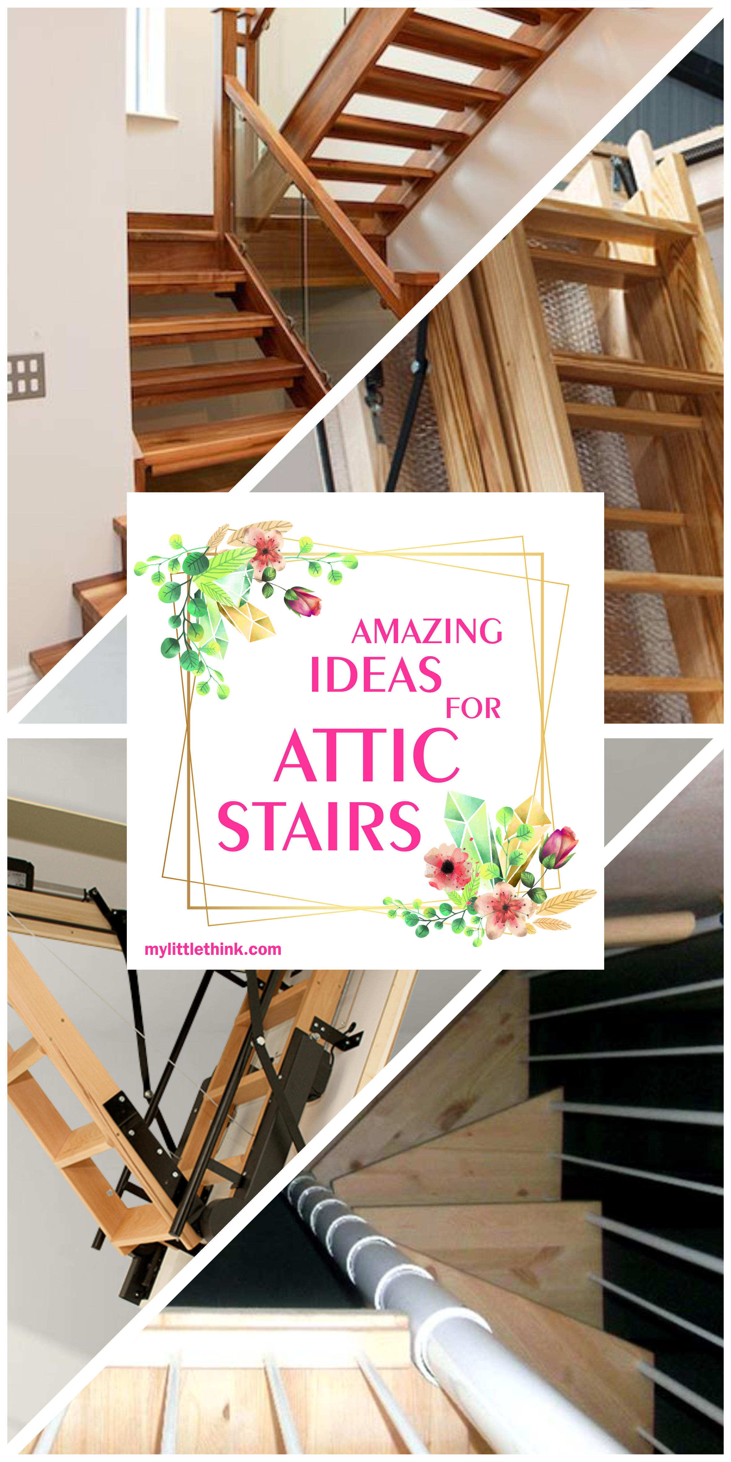 37+ The Most Creative Attic Stairs Ideas For Your Home