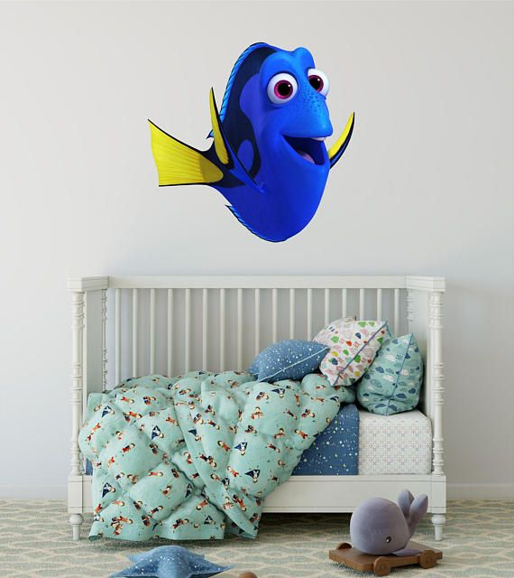 Disney Dory Finding Nemo Wall Decal Pixar Childrenu0027s Wall Huge Fathead Get  Yours Here: Https